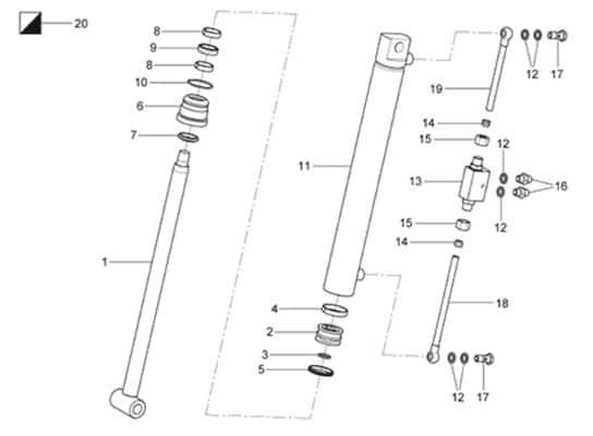 Ravaglioli GTB16N 50 30 400 Hydraulic Cylinder