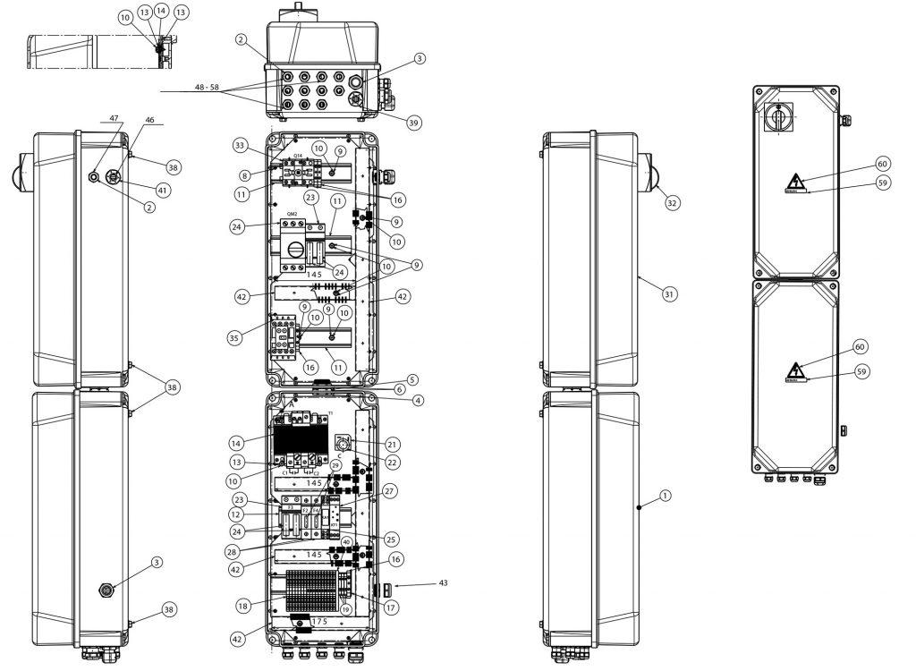 Ravaglioli GTB16NElectric Cabinet Variation with Inverter