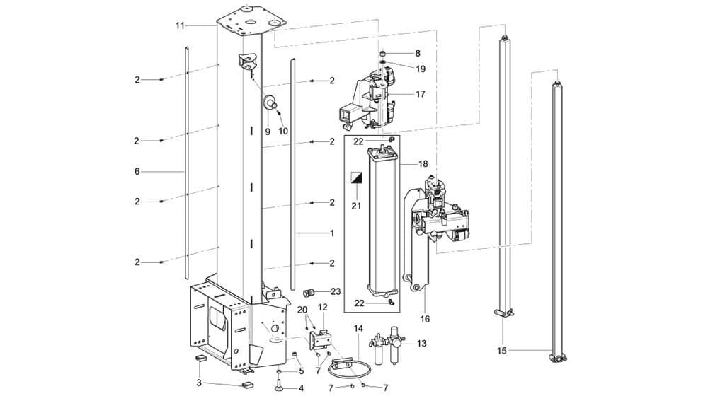 G1150.30MAGICITS Column Unit