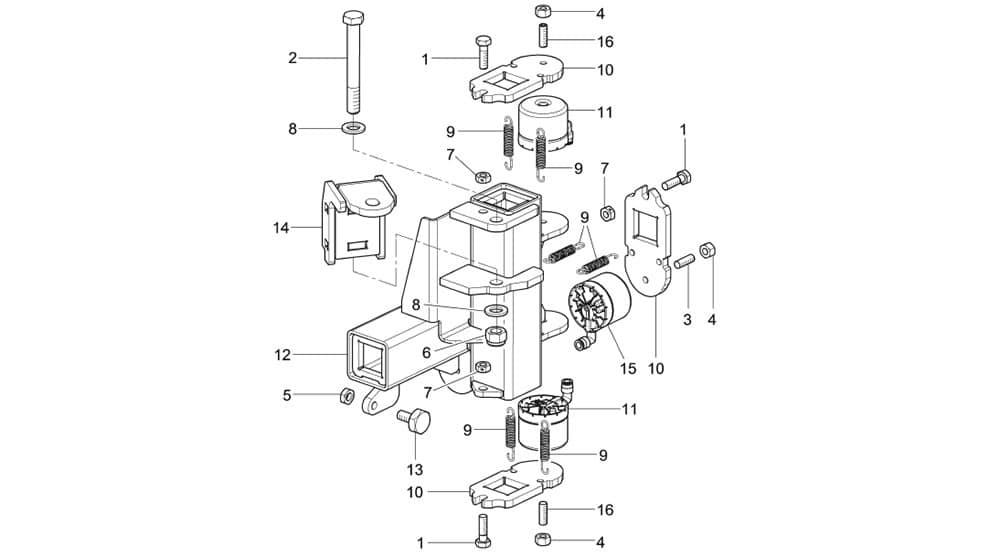 G1150.30MAGICITS Double Guide Unit