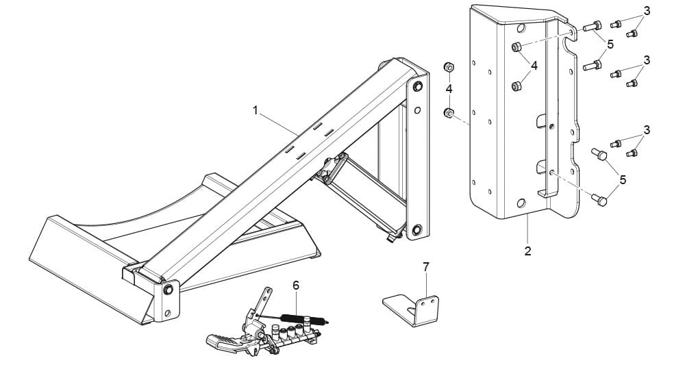G8945DS.ITA Lateral Lifting Device G8945DS.ITA Assembly Unit