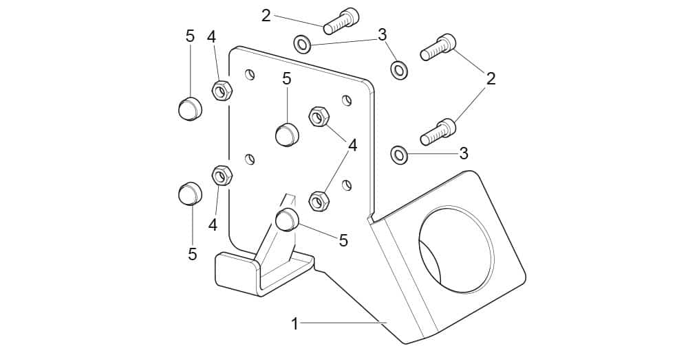 G8945DS.ITA Quick Coupling Support