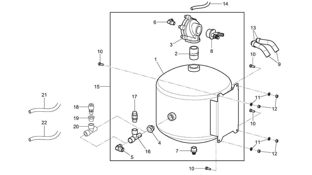 G7645ID.26 Air Reservoir Assembly