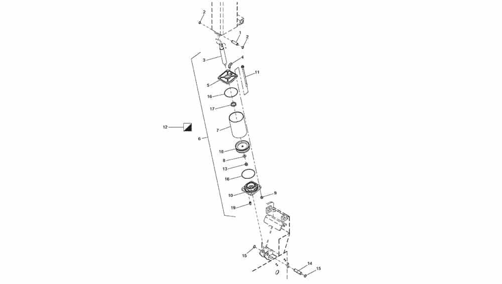 G7645ID.26 Tilting Cylinder Unit