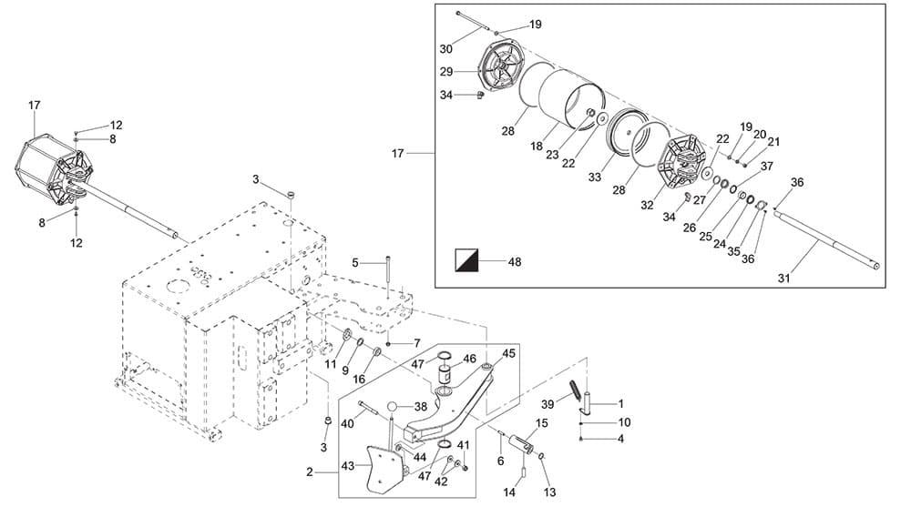 G8645.26 Bead Breaker Arm Unit