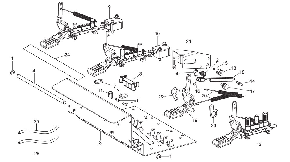 G8645.26 Inverter Machine Pedalboard Unit