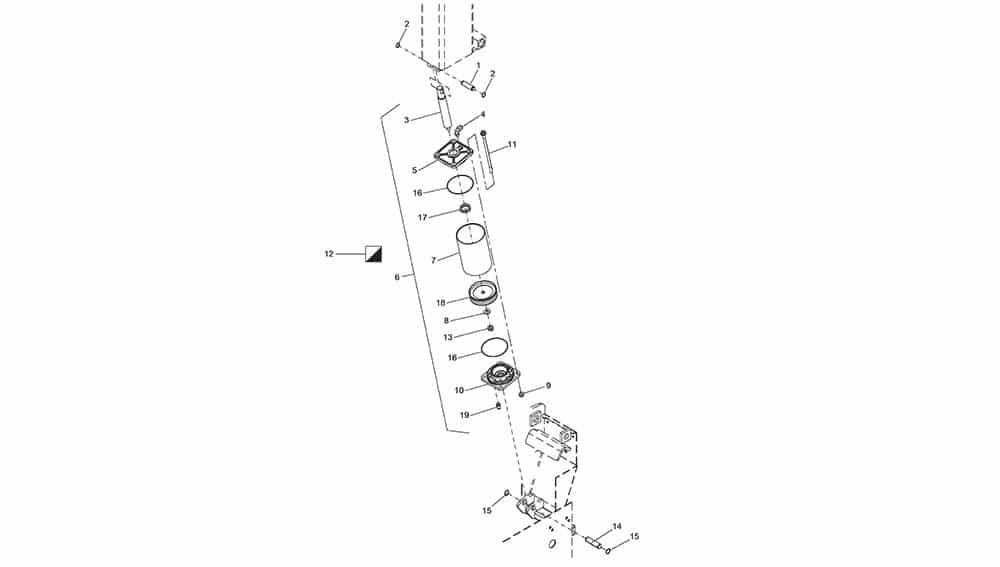 G8645.26 Tilting Cylinder Unit