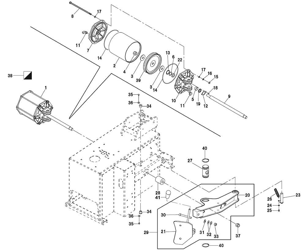 G7240 ARM-UNIT-+-BEAD-BREAKER-PISTON
